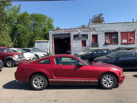 2005 Ford Mustang for sale at Dan's Auto Sales and Repair LLC in East Hartford CT