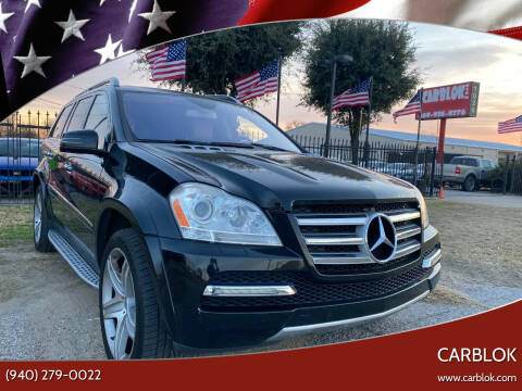 2011 Mercedes-Benz GL-Class for sale at CARBLOK in Lewisville TX