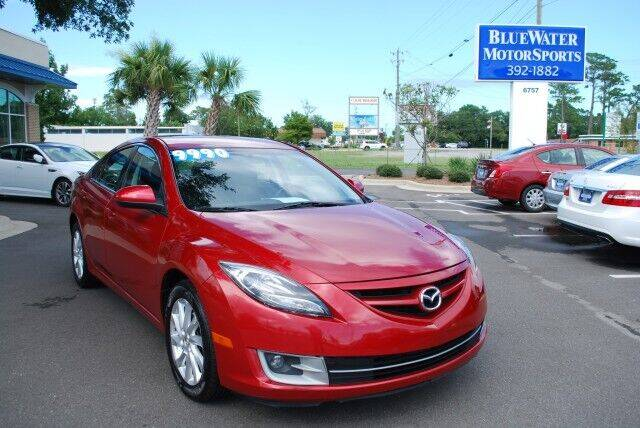 2012 Mazda MAZDA6 for sale at BlueWater MotorSports in Wilmington NC