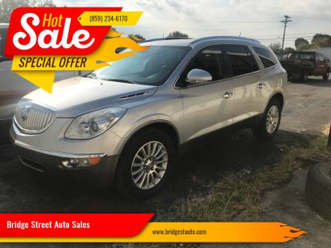2011 Buick Enclave for sale at Bridge Street Auto Sales in Cynthiana KY