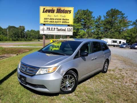 2012 Honda Odyssey for sale at Lewis Motors LLC in Deridder LA