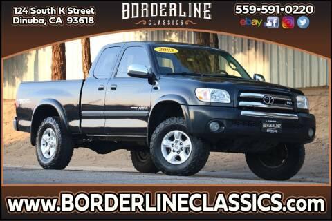 2005 Toyota Tundra for sale at Borderline Classics in Dinuba CA