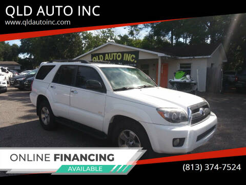 2008 Toyota 4Runner for sale at QLD AUTO INC in Tampa FL