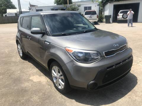 2016 Kia Soul for sale at AMERICAN AUTO COMPANY in Beaumont TX