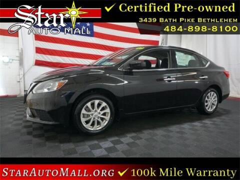 2018 Nissan Sentra for sale at STAR AUTO MALL 512 in Bethlehem PA
