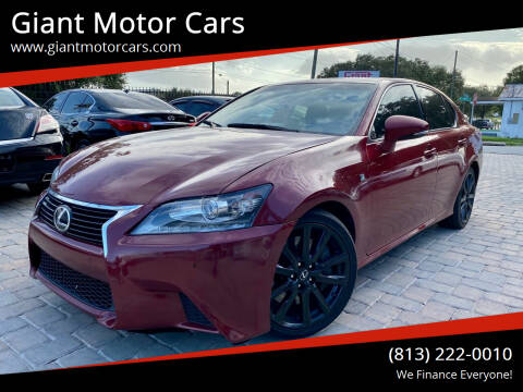 2015 Lexus GS 350 for sale at Giant Motor Cars in Tampa FL
