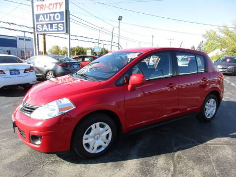 2012 Nissan Versa for sale at TRI CITY AUTO SALES LLC in Menasha WI