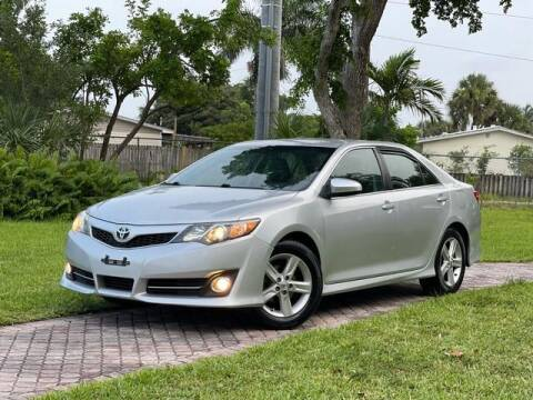 2014 Toyota Camry for sale at Citywide Auto Group LLC in Pompano Beach FL