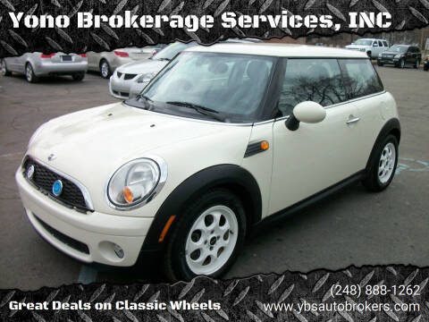 2009 MINI Cooper for sale at Yono Brokerage Services, INC in Farmington MI