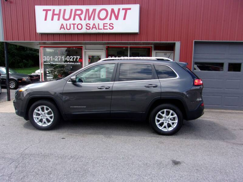 2015 Jeep Cherokee for sale at THURMONT AUTO SALES in Thurmont MD