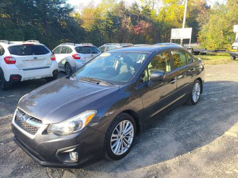 2013 Subaru Impreza for sale at B & B GARAGE LLC in Catskill NY
