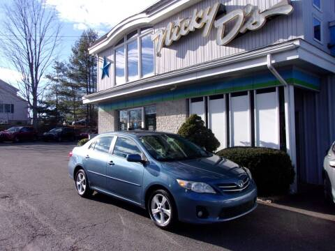 2013 Toyota Corolla for sale at Nicky D's in Easthampton MA