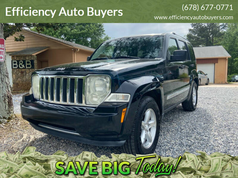 2008 Jeep Liberty for sale at Efficiency Auto Buyers in Milton GA