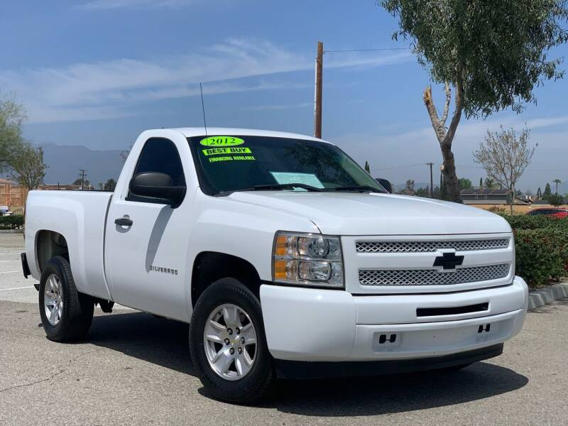 2012 Chevrolet Silverado 1500 for sale at Esquivel Auto Depot in Rialto CA