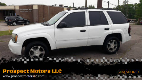 2006 Chevrolet TrailBlazer for sale at Prospect Motors LLC in Adamsville AL
