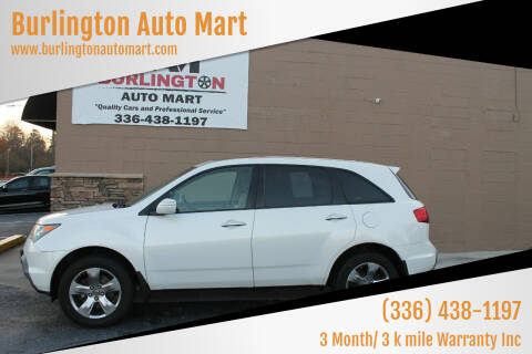 2007 Acura MDX for sale at Burlington Auto Mart in Burlington NC
