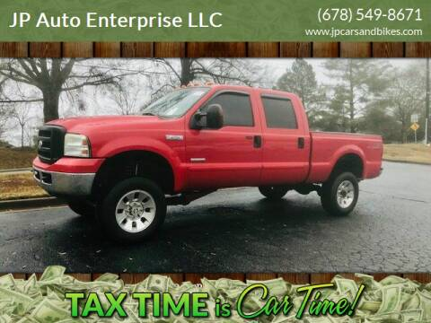 2006 Ford F-250 Super Duty for sale at JP Auto Enterprise LLC in Duluth GA