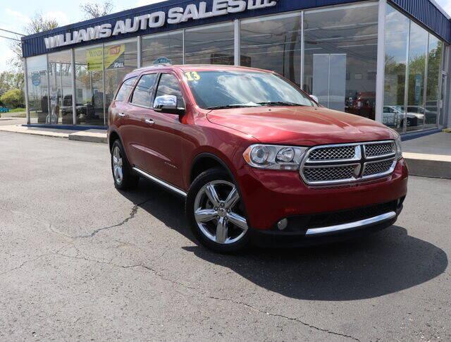 2013 Dodge Durango for sale at Williams Auto Sales, LLC in Cookeville TN