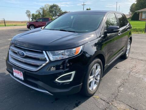 2017 Ford Edge for sale at Louisburg Garage, Inc. in Cuba City WI