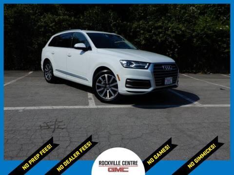 2018 Audi Q7 for sale at Rockville Centre GMC in Rockville Centre NY