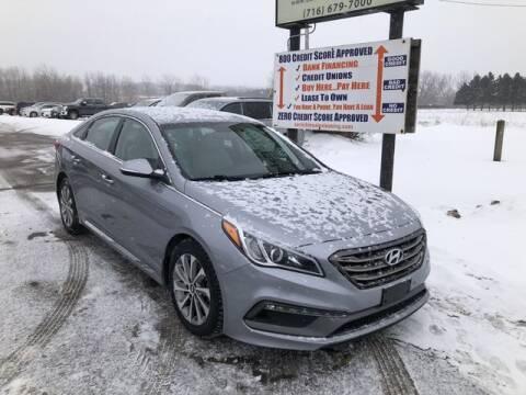 2017 Hyundai Sonata for sale at Sensible Sales & Leasing in Fredonia NY