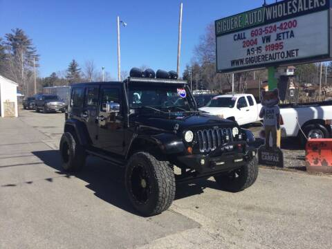2007 Jeep Wrangler Unlimited for sale at Giguere Auto Wholesalers in Tilton NH