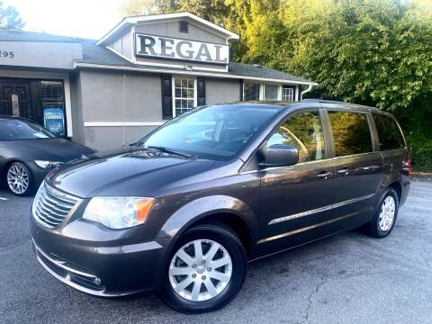 2015 Chrysler Town and Country for sale at Regal Auto Sales in Marietta GA