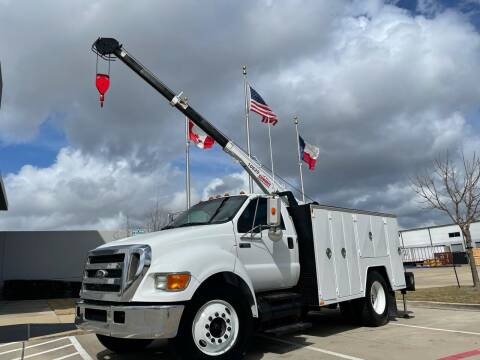 2007 Ford F-650 Super Duty for sale at TWIN CITY MOTORS in Houston TX