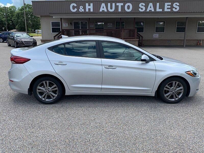 2018 Hyundai Elantra for sale at C & H AUTO SALES WITH RICARDO ZAMORA in Daleville AL