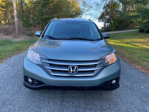 2012 Honda CR-V for sale at Speed Auto Mall in Greensboro NC