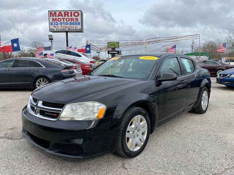 2014 Dodge Avenger for sale at Mario Motors in South Houston TX