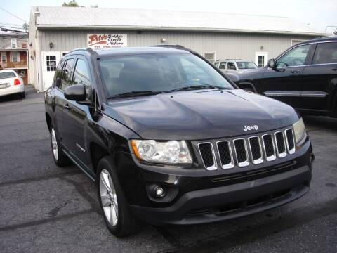 2011 Jeep Compass for sale at Pete's Bridge Street Motors in New Cumberland PA