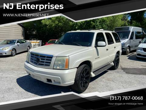 2004 Cadillac Escalade for sale at NJ Enterprises in Indianapolis IN