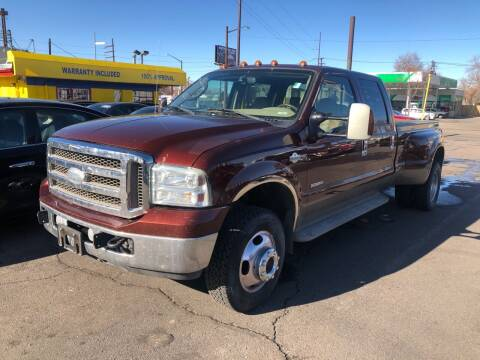 2005 Ford F-350 Super Duty for sale at New Wave Auto Brokers & Sales in Denver CO