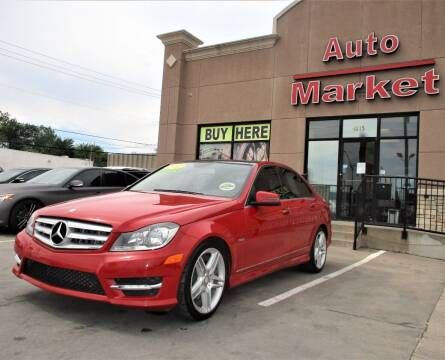 2012 Mercedes-Benz C-Class for sale at Auto Market in Oklahoma City OK