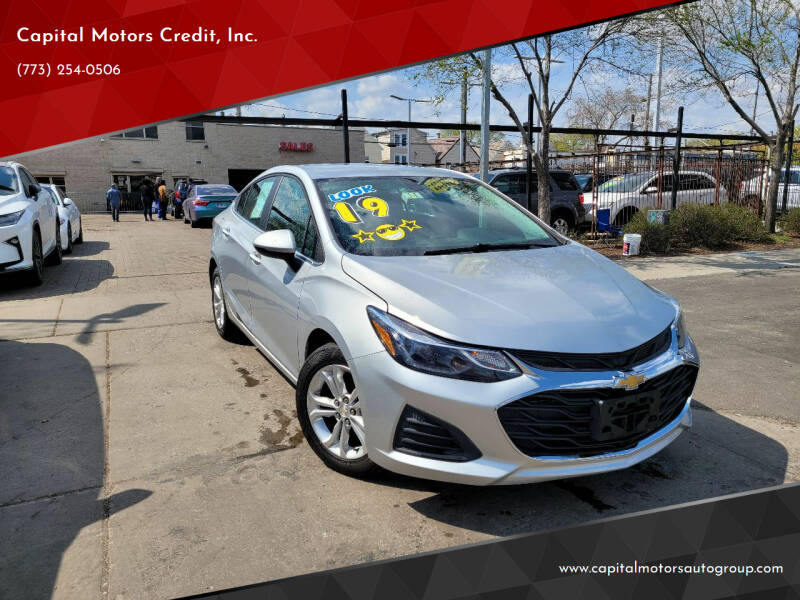 2019 Chevrolet Cruze for sale at Capital Motors Credit, Inc. in Chicago IL