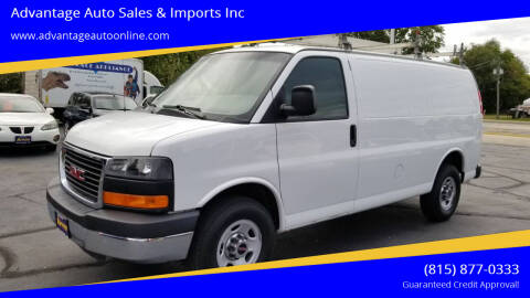 2015 GMC Savana Cargo for sale at Advantage Auto Sales & Imports Inc in Loves Park IL