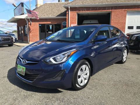 2016 Hyundai Elantra for sale at Real Auto Shop Inc. in Somerville MA