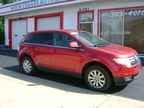 2008 Ford Edge for sale at Cedar Auto Sales in Lansing MI