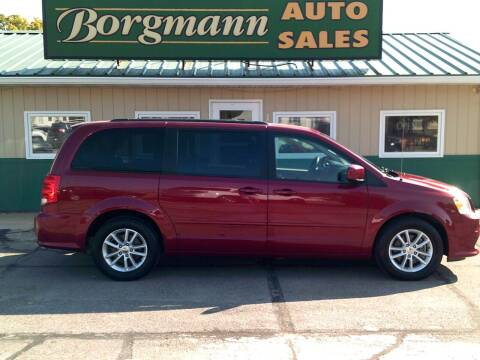 2015 Dodge Grand Caravan for sale at Borgmann Auto Sales in Norfolk NE