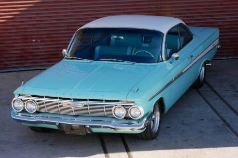 1961 Chevrolet Impala for sale at Sierra Classics & Imports in Reno NV