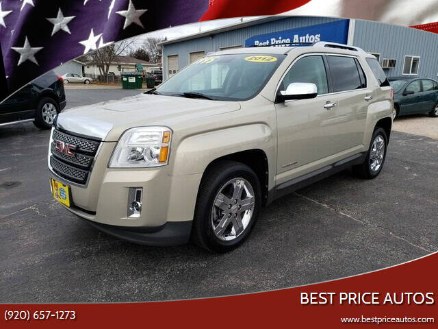 2012 GMC Terrain for sale at Best Price Autos in Two Rivers WI