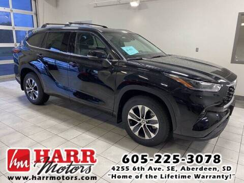 2021 Toyota Highlander for sale at Harr's Redfield Ford in Redfield SD