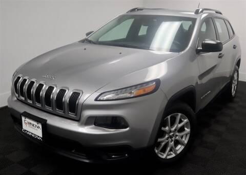2015 Jeep Cherokee for sale at CarNova in Stafford VA