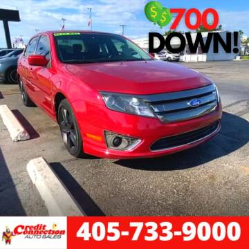 2011 Ford Fusion for sale at Credit Connection Auto Sales in Midwest City OK