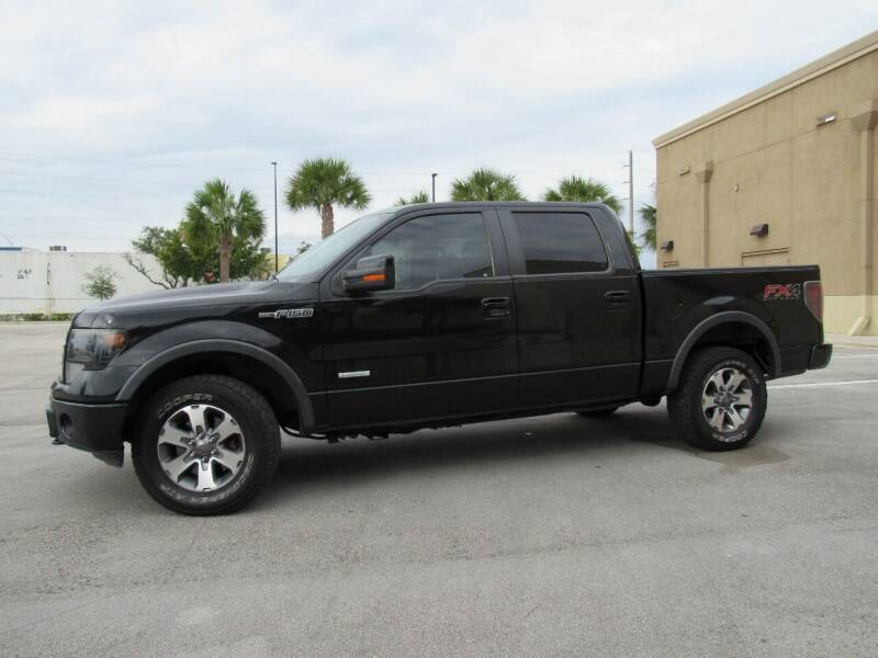2013 Ford F-150 for sale at Easy Deal Auto Brokers in Hollywood FL