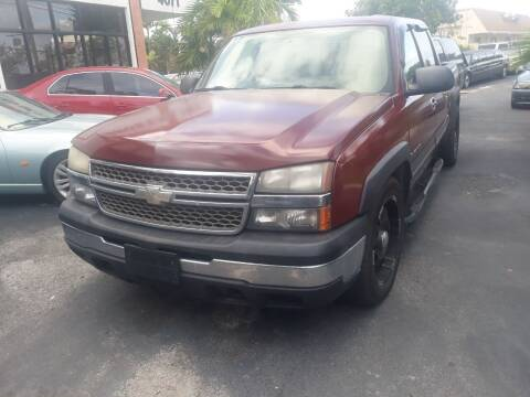 2007 Chevrolet Silverado 1500 Classic for sale at LAND & SEA BROKERS INC in Deerfield FL