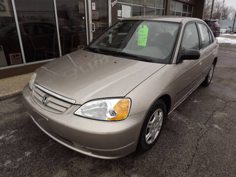 2002 Honda Civic for sale at Arko Auto Sales in Eastlake OH