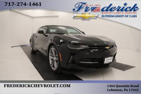2018 Chevrolet Camaro for sale at Lancaster Pre-Owned in Lancaster PA