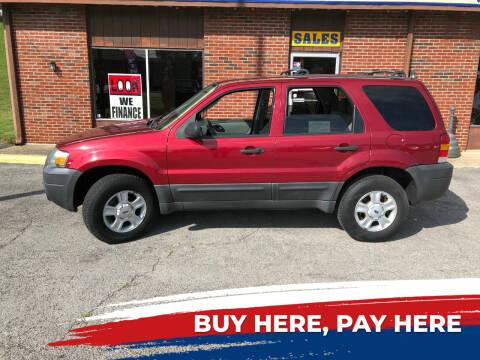2006 Ford Escape for sale at Atlas Cars Inc. - Elizabethtown Lot in Elizabethtown KY